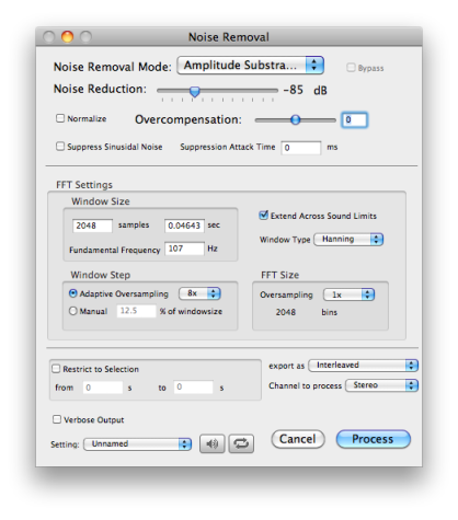 Introduction - Processing Noise Removal